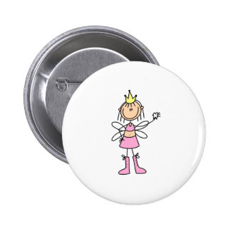 Tooth Fairy With A Lost Tooth Button
