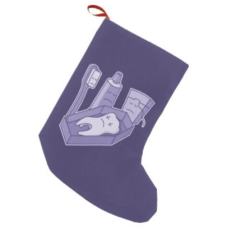 Tooth Funeral Small Christmas Stocking
