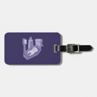 Tooth Funeral Travel Bag Tag
