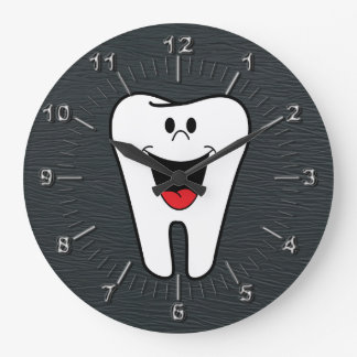 Tooth Large Clock
