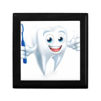 Tooth Mascot Character Gift Box