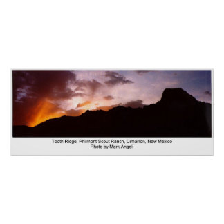 Tooth Ridge, Philmont Scout Ranch Poster