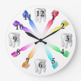 Toothbrush Clock