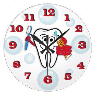 Toothbrush Clock