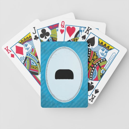 Toothbrush Mustache Deck Of Cards
