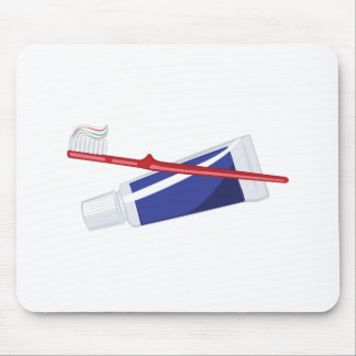Toothbrush & Paste Mouse Pad