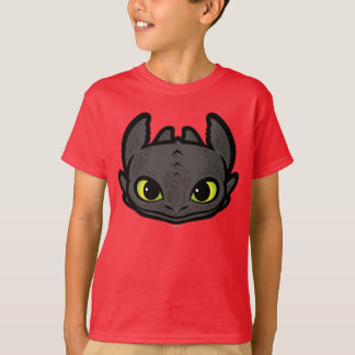 Toothless Head Icon T-Shirt