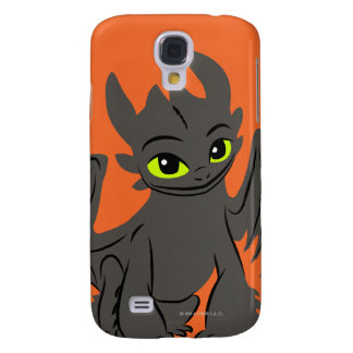 Toothless Illustration 02 Samsung Galaxy S4 Cases