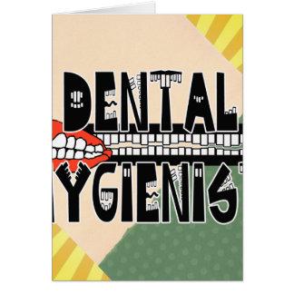 TOOTHY DENTAL HYGIENIST LOGO CARD