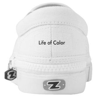 Tootzeelu Art - Life of Color Slip On Shoes