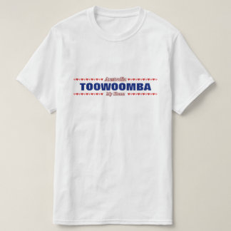 TOOWOOMBA - My Home - Australia; Red & Pink Hearts T-Shirt