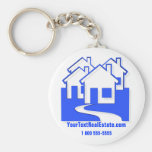 Top 10 Award! Houses Button Keychain