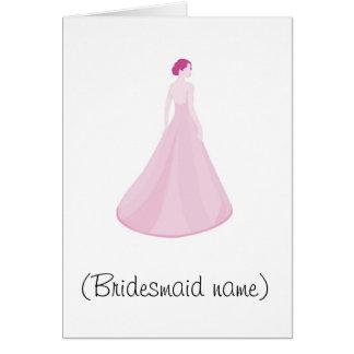 Top 10 reasons to be my bridesmaid card