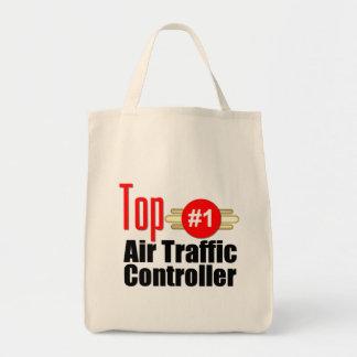 Top Air Traffic Controller Grocery Tote Bag