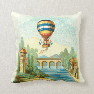 TOP Air Trip Throw Pillow
