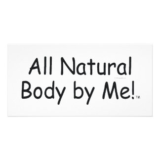 TOP All Natural Body Photo Card Template