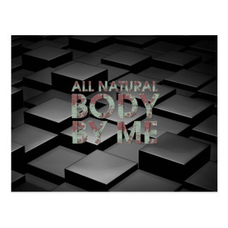 TOP All Natural Body Postcard