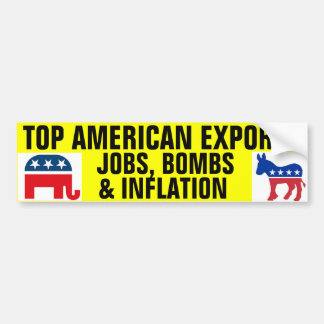 Top American Exports Bumper Sticker