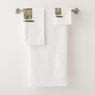 TOP America's Pastime Bath Towel Set