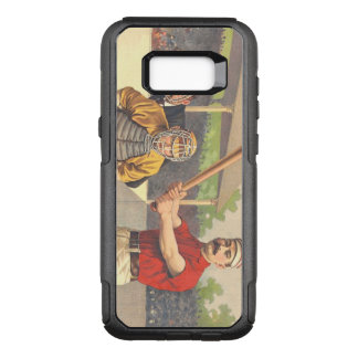 TOP America's Pastime OtterBox Commuter Samsung Galaxy S8+ Case