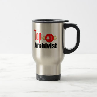 Top Archivist Stainless Steel Travel Mug