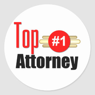 Top Attorney Stickers