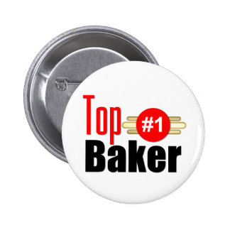 Top Baker 6 Cm Round Badge