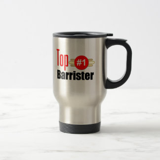 Top Barrister Stainless Steel Travel Mug