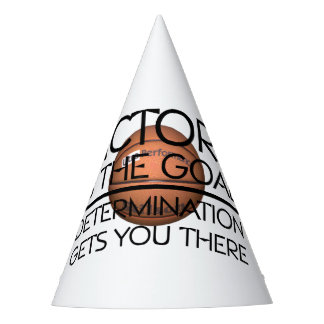 TOP Basketball Victory Slogan Party Hat
