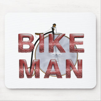 TOP Bike Man Mouse Pad