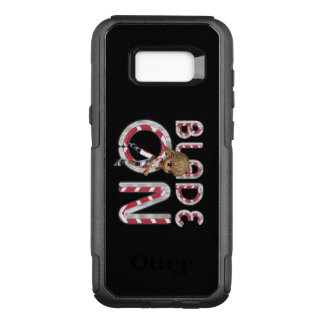 TOP Blade On OtterBox Commuter Samsung Galaxy S8+ Case