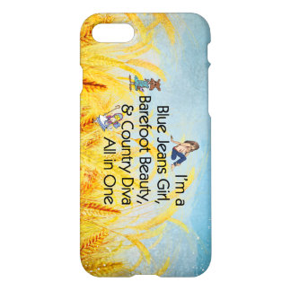 TOP Blue Jeans Girl iPhone 8/7 Case