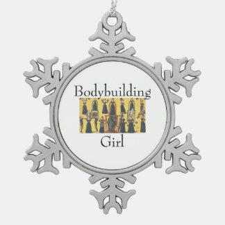 TOP Bodybuilding Girl Ornaments