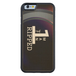 TOP Bodybuilding Man Carved Maple iPhone 6 Bumper Case