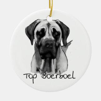 Top Boerboel Ornament