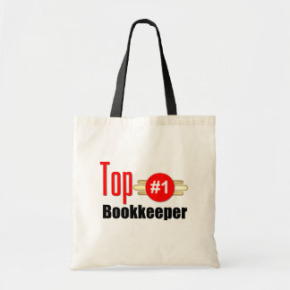 Top Bookkeeper Budget Tote Bag