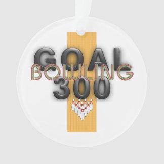 TOP Bowling Goal 300 Ornament