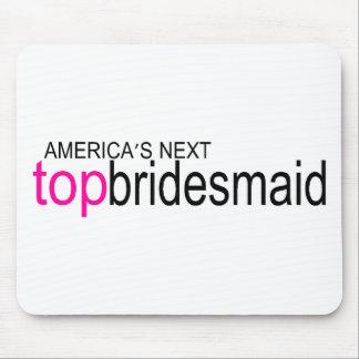 Top Bridesmaid Mouse Pad