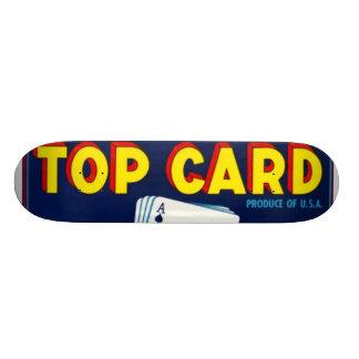 Top Card Bartletts Pears Skate Board Deck