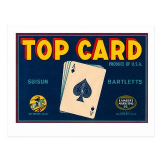 Top Card Postcard
