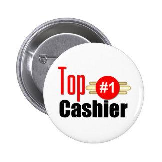 Top Cashier 6 Cm Round Badge