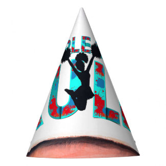 TOP Cheerleaders Rule Party Hat