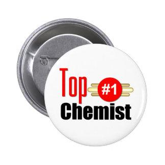 Top Chemist Pinback Button
