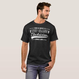 Top Class Electrician T-shirt