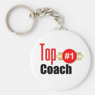Top Coach Basic Round Button Key Ring