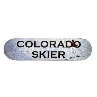 TOP Colorado Skier Skateboard Deck