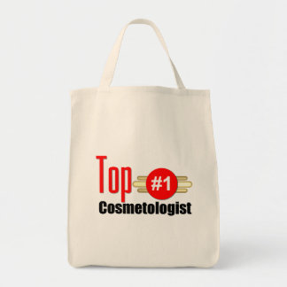 Top Cosmetologist Grocery Tote Bag