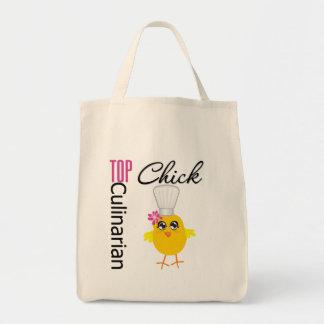 Top Culinarian Chick Tote Bag