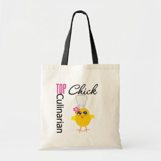 Top Culinarian Chick Budget Tote Bag