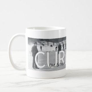 TOP Curling Old School Coffee Mug